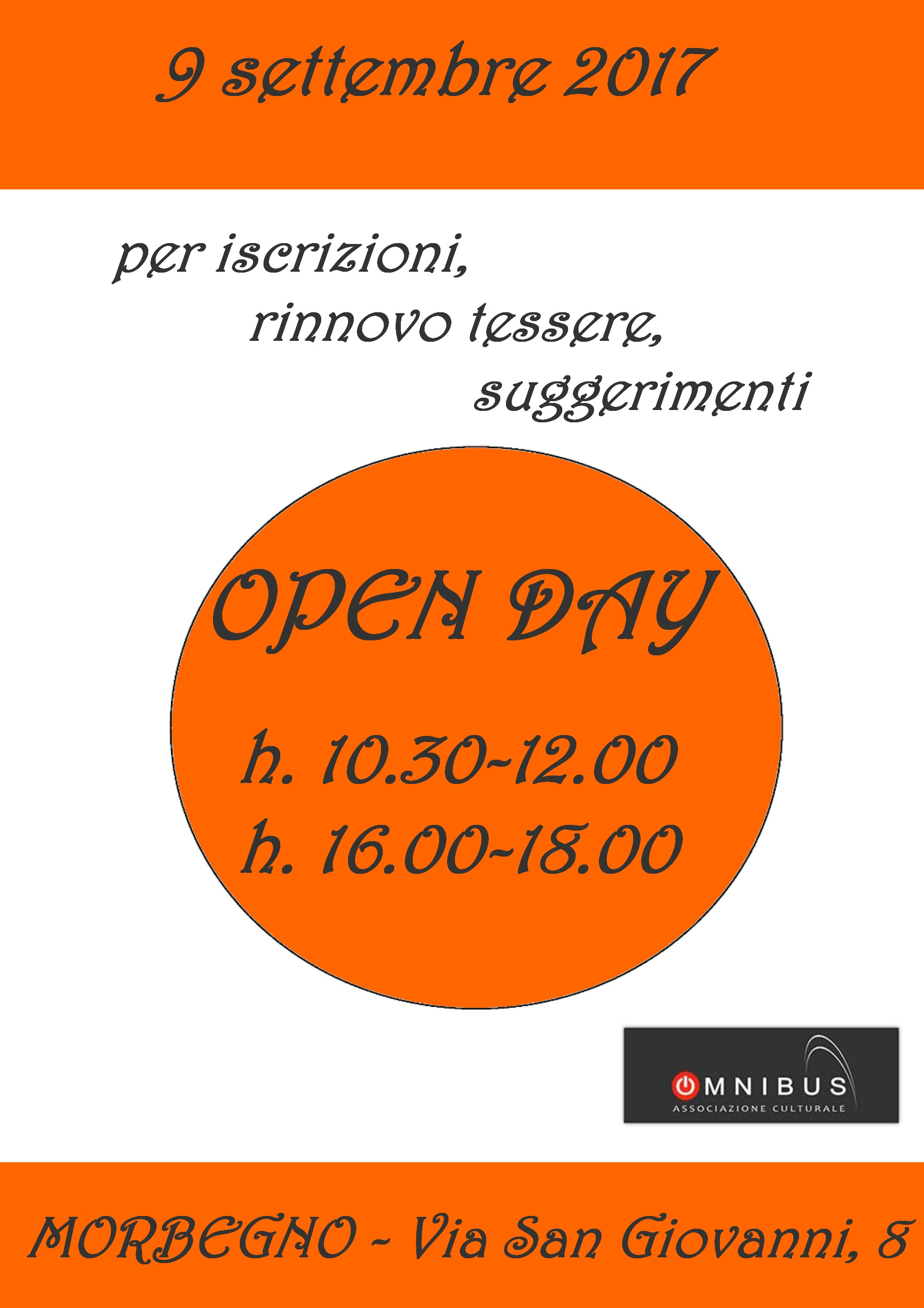 Open Day 17-18